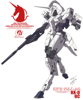 RX-0 Unicorn [Unicorn Mode] by GunZcon