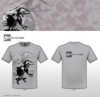 t-shirt design (minotaur) by J0erdan