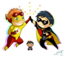 Young Justice_ Super BFFs by NoahWhite