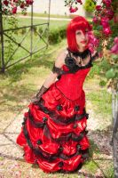 Red Flowers Madame Red by MidorikoXP