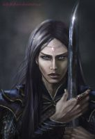 Maeglin Lomion and the Black Sword - Evil in Arda by Ladyoftheflower