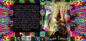 Alice in Wonderland book cover by Tallis