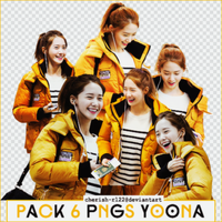 PACK 6 PNGS YOONA MADE BY RIDLEY by cherish-rl22