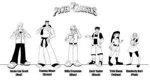 Power Rangers TV Show Concept by stadiumproductions
