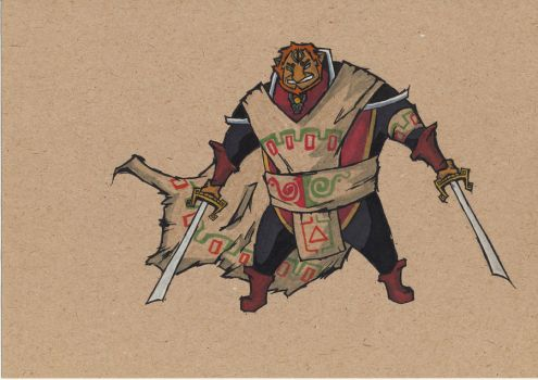 toon Ganondorf ROTP by Ryoni93