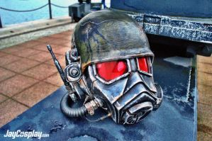 NCR Veteran Ranger v4.0 Helmet (Final) #08 by JayCosplay