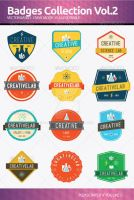 Badges collection Vol 2 by flatsguts