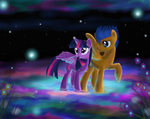 A flash Love In the light by MarcyLin1023