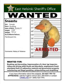 Wanted Poster Snaastu by TheLobes