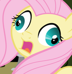 Commission - Fluttershy Vector - Oops, derp. by Anxet