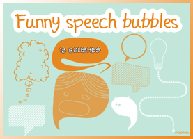 Funny speech bubbles by stardixa