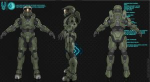 Halo 2 Anniversary MK.VI G1 by Dutch02