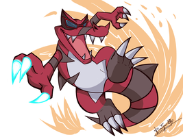 Krookodile by RinaTiger-Art