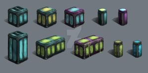 Containers by YellowVampy