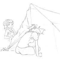 Veronica and Dani - Tent... by NuMe-ONE