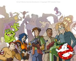 Extreme Ghostbusters by filbarlow
