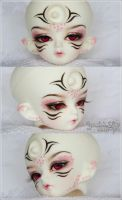 April's Face Makeup by MySweetQueen-Dolls
