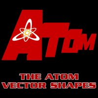 The Atom Vector Shapes by Retoucher07030