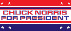 chuck norris for president by bagera3005