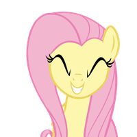 My Little Vector #3: Fluttershy (Cheeeese...) by KocMoHaBT