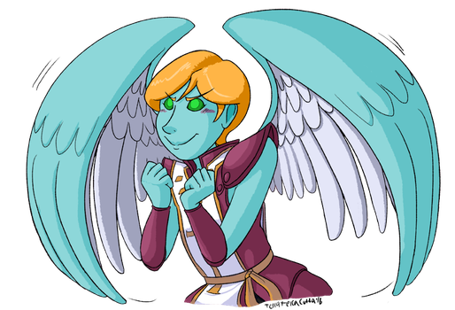 Determined Uriel by TerraTerraCotta