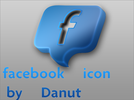 facebook icon by syndromul