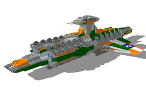Anz'kalarad Battleship by StarSword-C
