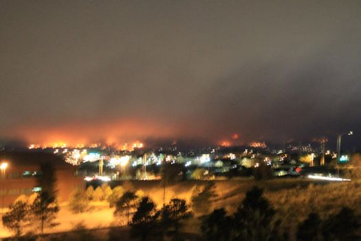 Waldo Canyon Fire- 1 - Tuesday 6-26-2012 by arbiter1983