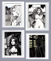 Sketch Cards II by rplatt