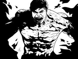 Hulk - Incredible by LRitchieInk