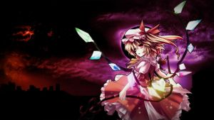 Flandre Scarlet - Touhou by tdworkgroup