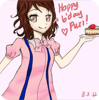 happy bday Puri ! by nakamimi