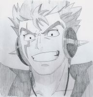 fairy tail, laxus by lea33