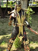 Cosplay Scorpion by CosplayQuest