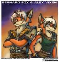 Bernard Fox n Alex vixen by alphaleo14