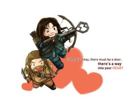 The Hobbit:: A Way into the Heart by caylren