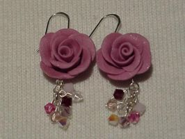 Polymer Clay Earrings by pyronuggin