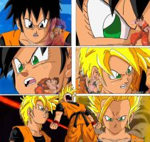 Dbz Oc's : My Brothers ... by caractrer-manga