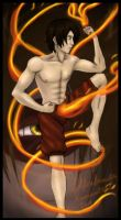 30k thanks Zuko Firebending by lilfirebender