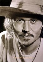 Johnny Depp by smiffychap