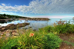 Rockport Flower Rocks Harbor 1 by photoboy1002001