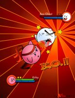 [=Kirby vs. Boo=] by Ant-artistik