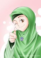 Hijab is not an Obstacle to Work by viewtiful94
