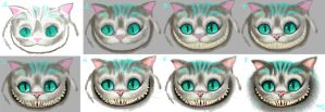 Cheshire Cat - Step by step by alch3mist-design