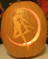 Sailor Moon Pumpkin Light Version by johwee