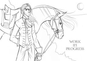 Lord John Grey WIP by neriahnee