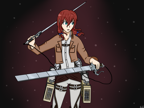 [ Day 6 ] With A Weapon Of Choice - Ava Hato by Pexxastar