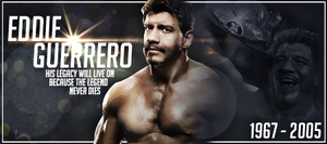 Eddie Guerrero Signature by ThrowawayGraphics