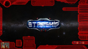 Starship Red by Thyrring