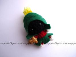 Marvin the Martian Amigurumi by AnyaZoe